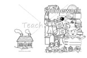 homework book cover printable book covers for primary