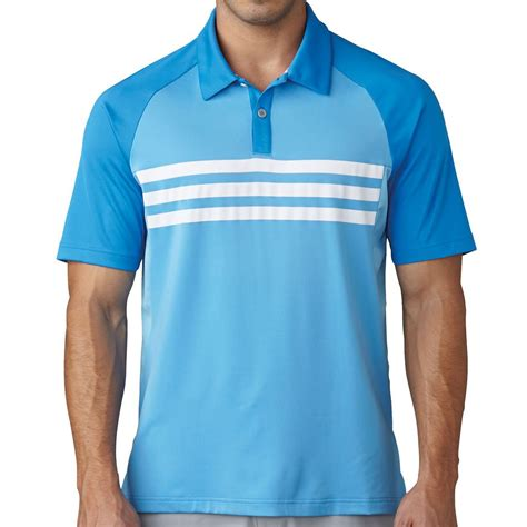 adidas 2017 climacool 174 3 stripes competition polo