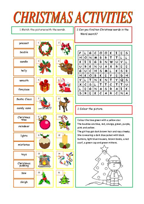 christmas activities for new students activities for students merry and happy new year 2018
