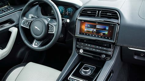 jaguar f pace inside 2016 jaguar f pace review right on pace motoring research