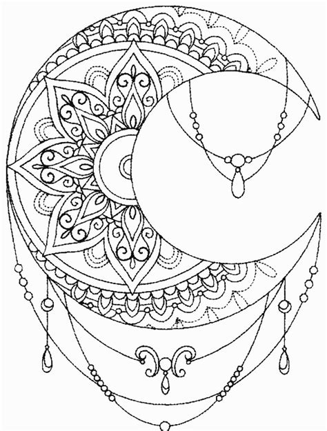 mandala moon tattoo 2261 best mandala images on coloring books