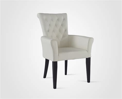 sillas de comedor con brazos silla de comedor con brazo 1152 blanco ripley