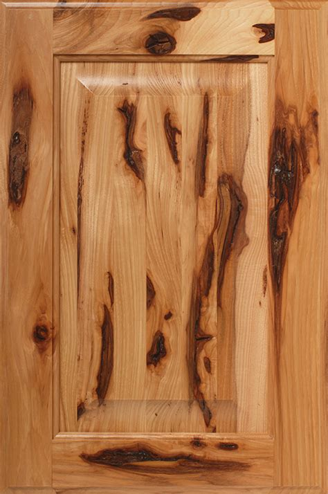 Kitchen Cabinet Us History by Hickory Ultra Rustic Grade Wood Species Description