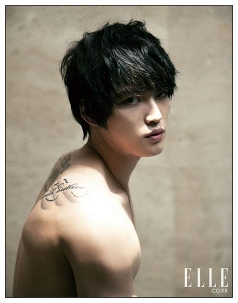 tato di paha g dragon g dragon tato seksi bintang korea favoritmu jaejoong