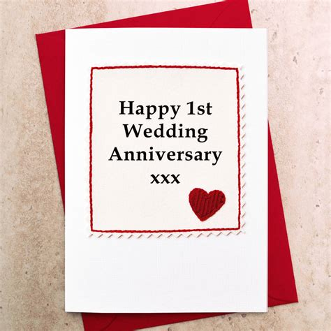 1 Year Anniversary Cards For