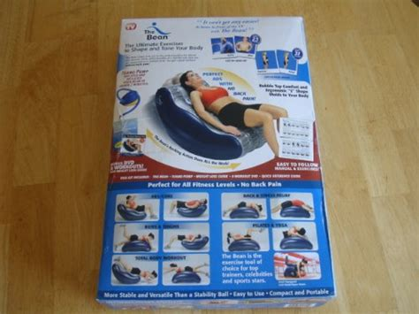 the bean deluxe ultimate exerciser with dvd sporting goods fitness abdominal equipment