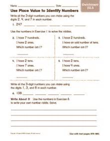 counting number worksheets 187 place value riddle worksheets