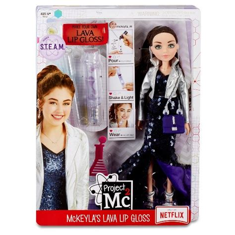 Project Mc2 Experiments with Doll  McKeyla's Lava Lip