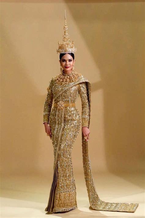 Costume National Dress national costume miss thailand universe 2017 thai
