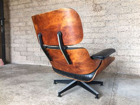 vintage eames chair and ottoman vintage rosewood lounge chair and ottoman by charles eames