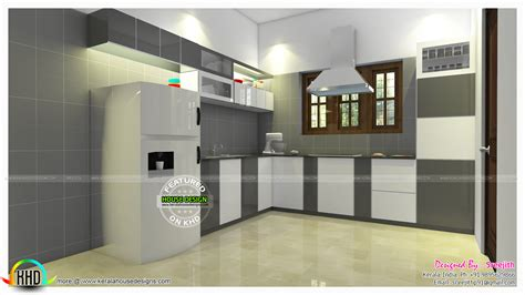 modular kitchen interior modular kitchen design trends 2017 kerala home design