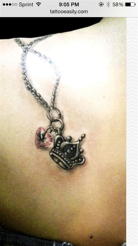 chain necklace tattoos 45 most amazing and attractive necklace tattoos golfian com