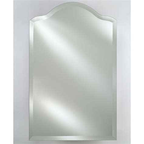 Bathroom Mirrors Radiance Scallop Top Frameless With Or | bathroom mirrors radiance scallop top frameless with or
