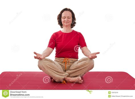 lotus position images lotus position royalty free stock image image 15615316