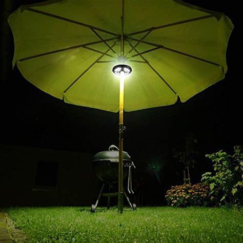 rechargeable patio umbrella lights hallomall patio umbrella light 28 led rechargeable