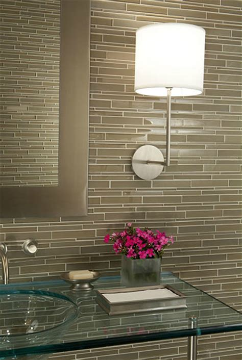glass tile backsplash bathroom glass backsplash design ideas