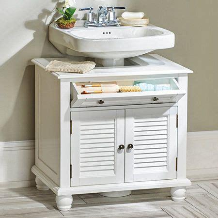 Cabinets For Pedestal Bathroom Sinks by Newport Louvered Pedestal Sink Cabinet House