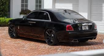 Rolls Royce Phantom Ghost Granite Black Wheels Fit Rolls Royce Ghost Nicely