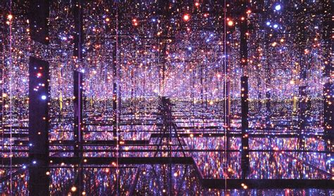 shaped box gallery infinity mirrored room