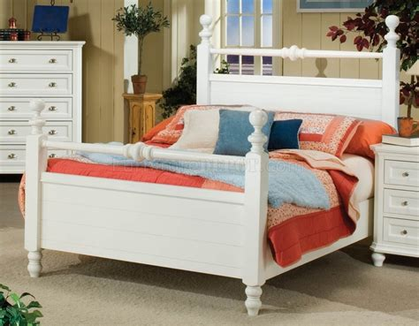cottage style bedroom sets white or black casual cottage style 5pc bedroom set