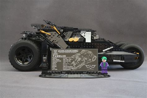 Sale Lego The Tumbler 76023 lego 76023 the tumbler speeding in the passing