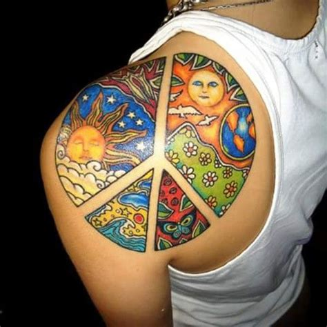world peace tattoo designs 25 best ideas about peace sign tattoos on
