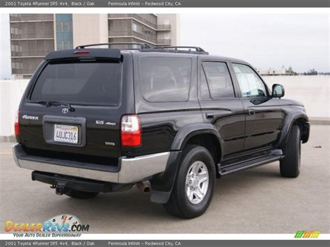 2001 Toyota 4runner Sr5 2001 Toyota 4runner Sr5 4x4 Black Oak Photo 4