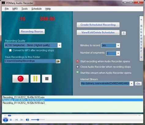 software for recording from web audio recorder software today record any web