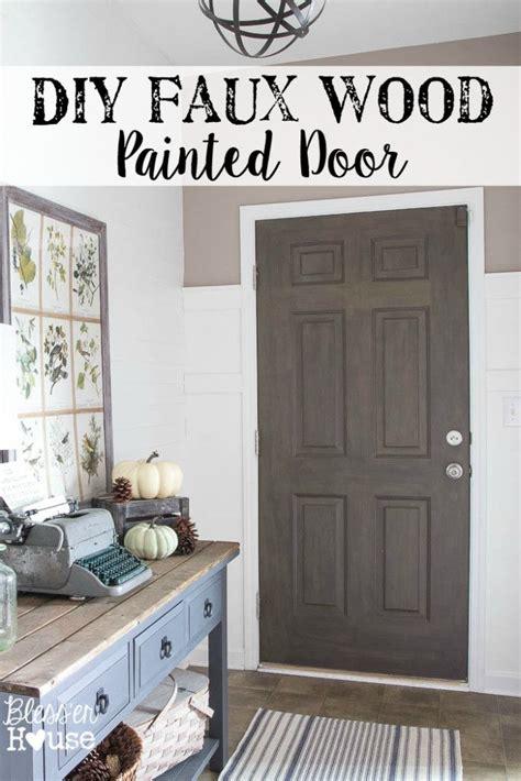 faux wood paint front door 17 best ideas about faux wood paint on painted