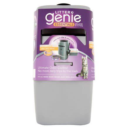 Cat Litter System Walmart - litter genie essentials cat litter disposal system