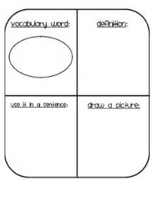 vocabulary card template 4 to a page vocabulary template by angela fetty teachers pay teachers