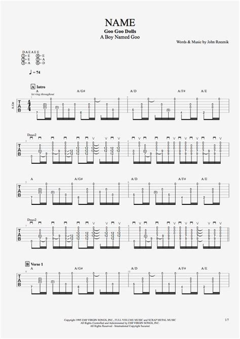 Contemporary Iris Goo Goo Dolls Guitar Chords Adornment - Beginner ...