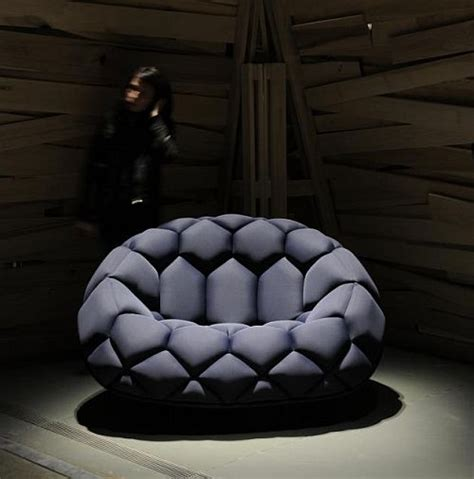 soccer ball couch quilt inflatable sofa looks like giant soccer ball