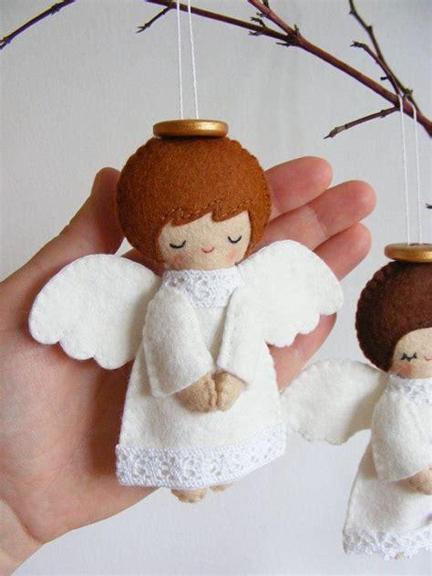 pattern for christmas tree angel pdf pattern felt angels christmas tree ornaments by