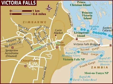 africa map falls map of falls