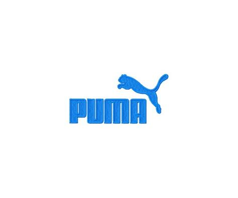 Auto Logo Puma by Puma Logos Package Machine Embroidery Design For Instant
