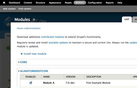 drupal theme hook in module drupal module hooks alan storm