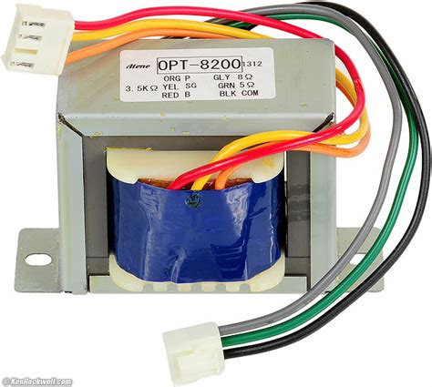 audio power transformer wire color code wiring diagram