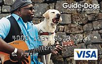 guiding for the blind cards guide dogs for the blind visa card puppy in