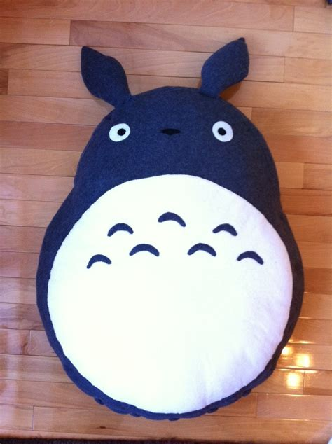 Totoro Pillow by Sew Leslie Totoro Floor Pillow