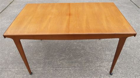 teak retro 1960 s extending dining table to seat eight sold