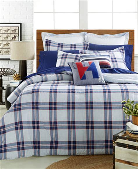 Hilfiger Plaid Comforter by Hilfiger Surf Plaid Comforter Set