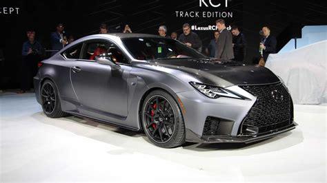 lexus rcf 2020 2020 lexus rc f track edition debuts in detroit update
