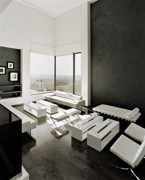 black and white modern living room 20 wonderful black and white contemporary living room designs