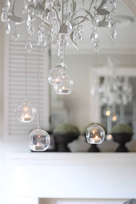 light holder hanging bauble tea light holders by