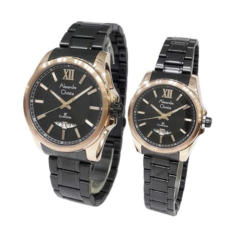 Alexandre Christie Ac8502md Classic Black Rosegold For jual alexandre christie classic steel series