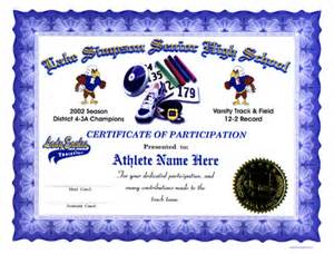 track and field certificate templates free track field certificates