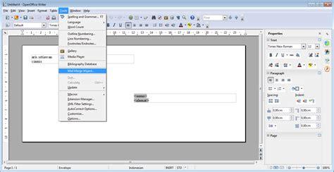 cara membuat barcode di open office my blogger cara membuat envelope di open office