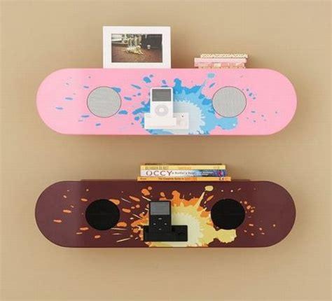skateboard ideas skateboard decor hold it contemporary home
