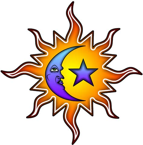 moon tattoo png sun moon tattoos designs high quality photos and flash